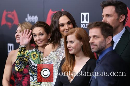 Deborah Snyder, Diane Lane, Gal Gadot, Amy Adams, Ben Affleck and Zack Snyder 3
