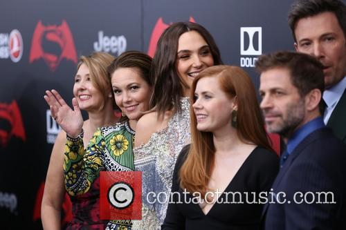 Deborah Snyder, Diane Lane, Gal Gadot, Amy Adams, Ben Affleck and Zack Snyder 4
