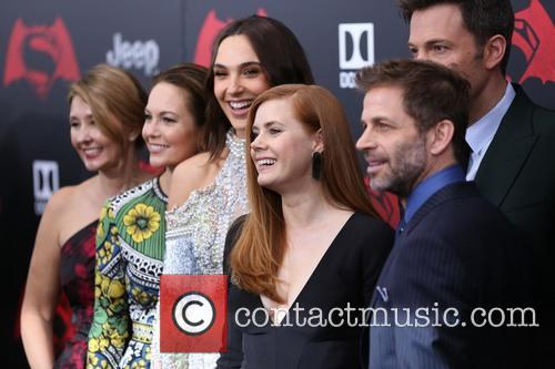 Deborah Snyder, Diane Lane, Gal Gadot, Amy Adams, Ben Affleck and Zack Snyder 5