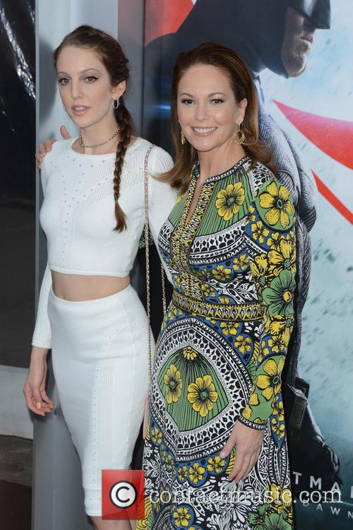 Eleanor Lambert and Diane Lane 1