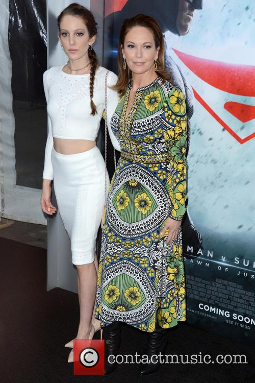 Eleanor Lambert and Diane Lane 2