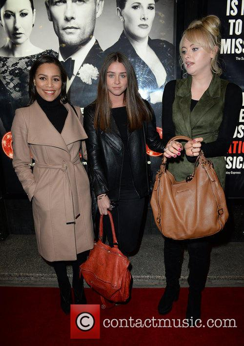 Tisha Merry, Brooke Vincent and Katie Mcglynn