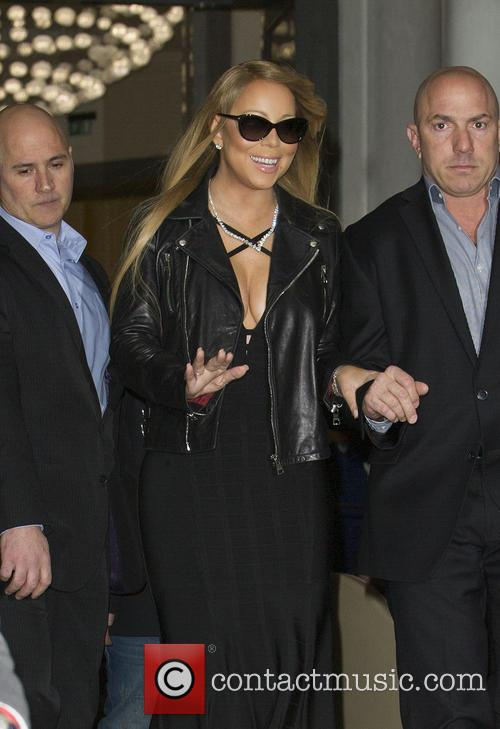 Mariah Carey Out and about in London