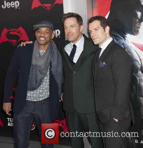 Will Smith, Ben Affleck and Henry Cavill 1