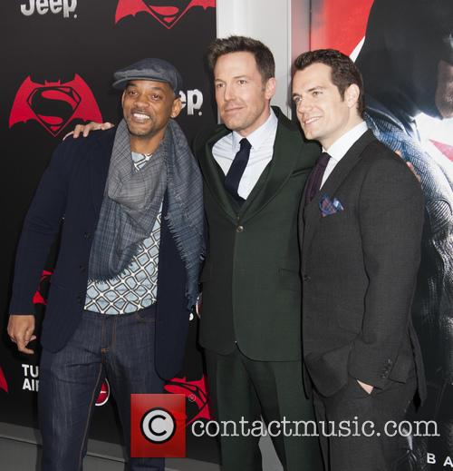 Will Smith, Ben Affleck and Henry Cavill 2