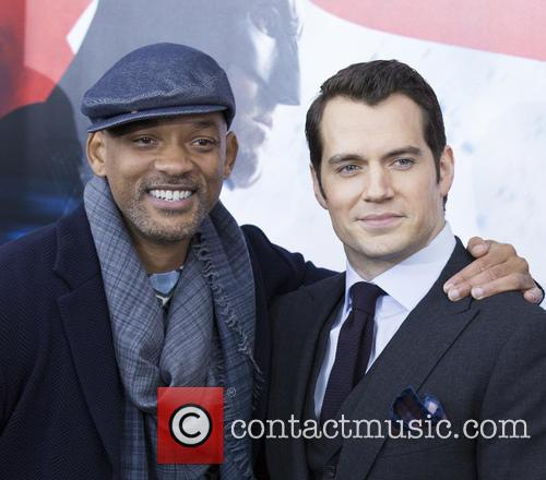 Will Smith and Henry Cavill 3