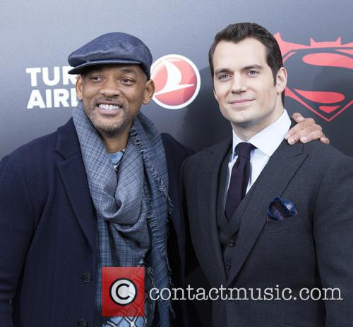 Will Smith and Henry Cavill 7