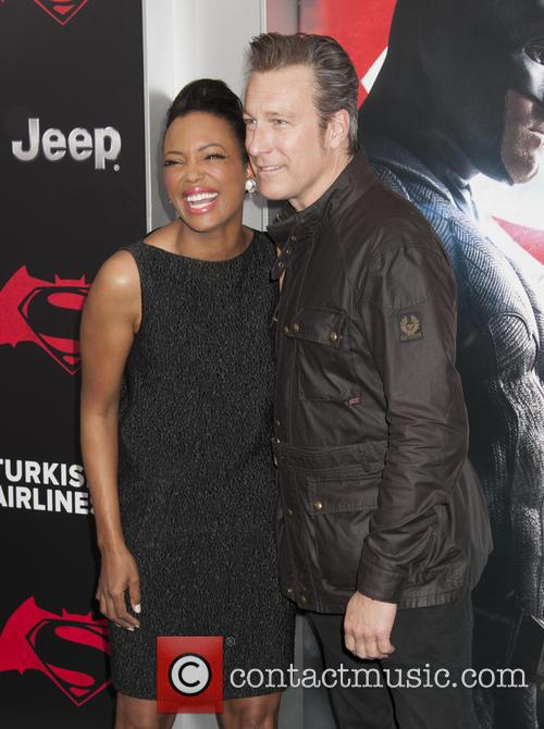 Aisha Tyler and John Corbett