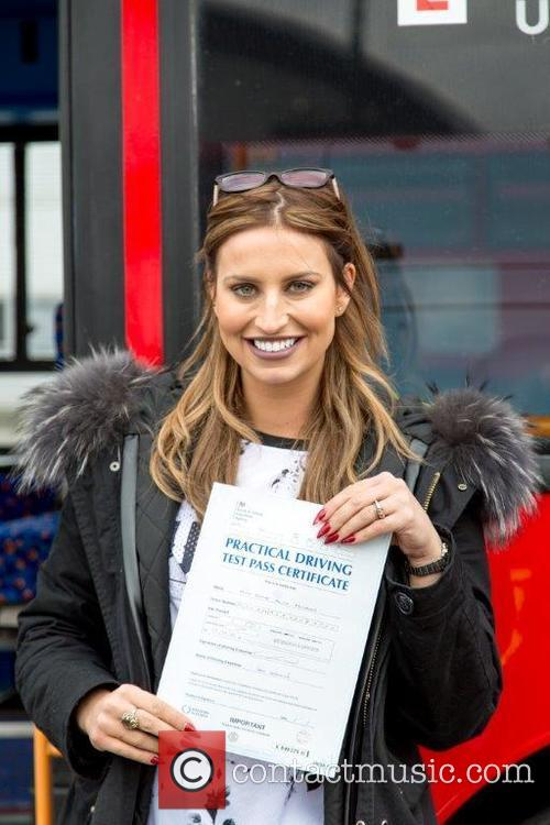 Ferne McCann gains bus driving qualification as part...