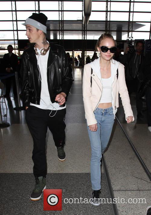 Lily Rose Depp and Ash Stymest 5
