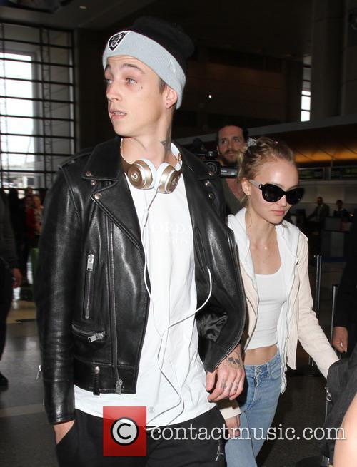Lily Rose Depp and Ash Stymest 7