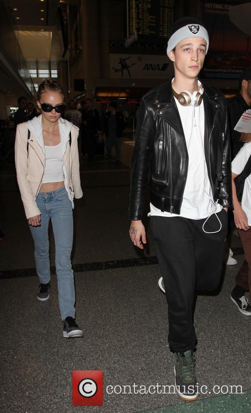 Lily Rose Depp and Ash Stymest 8