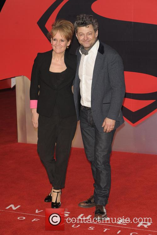 Lorraine Ashbourne and Andy Serkis 1