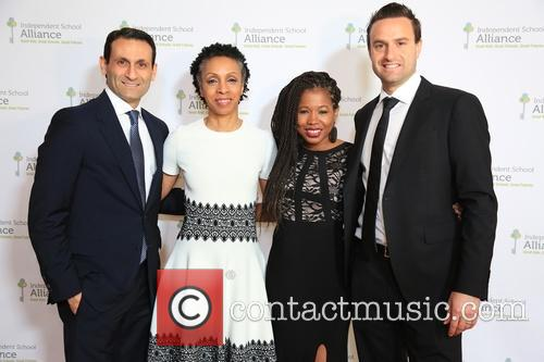 Benjamin Nazarian, Nina Shaw, Keishia Gu and Brian Laibow 1