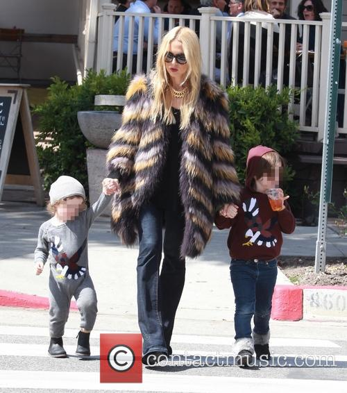 Rachel Zoe, Kaius Berman and Skyler Berman 10