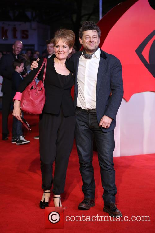 Andy Serkis and Lorraine Ashbourne 1