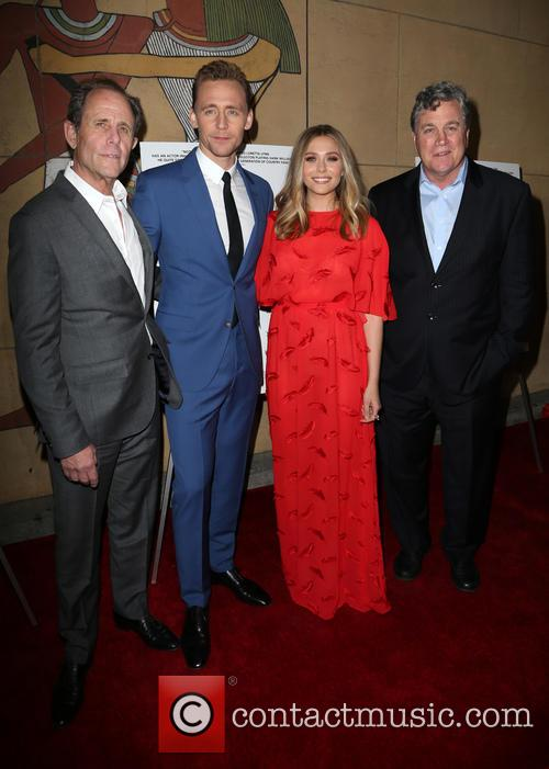 Marc Abraham, Tom Hiddleston, Elizabeth Olsen and Tom Bernard 6