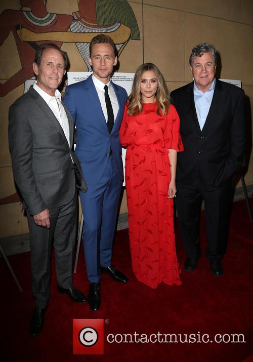 Marc Abraham, Tom Hiddleston, Elizabeth Olsen and Tom Bernard 7