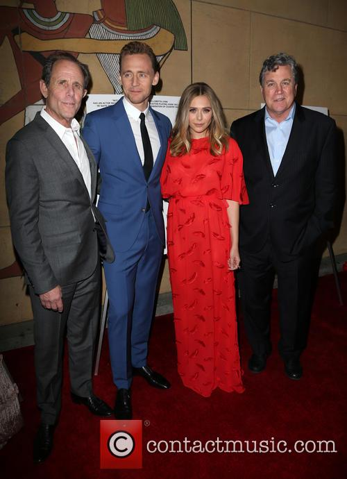 Marc Abraham, Tom Hiddleston, Elizabeth Olsen and Tom Bernard 8