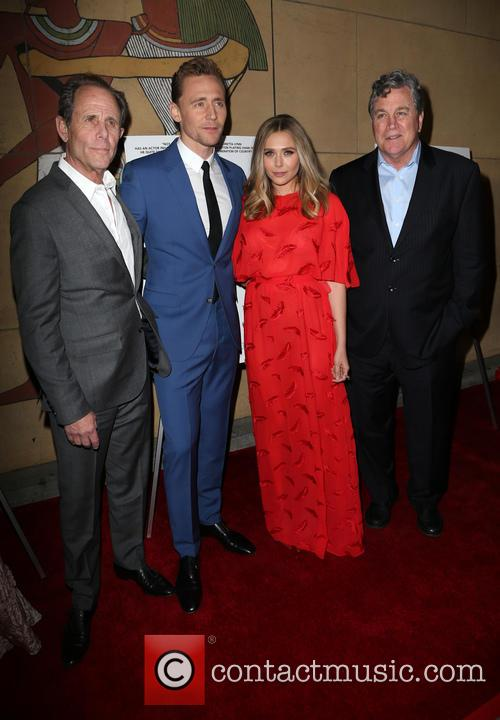 Marc Abraham, Tom Hiddleston, Elizabeth Olsen and Tom Bernard 9