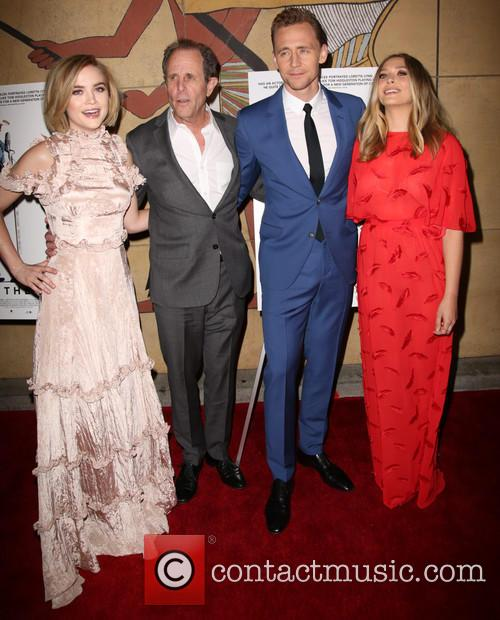 Maddie Hasson, Marc Abraham, Tom Hiddleston and Elizabeth Olsen 11