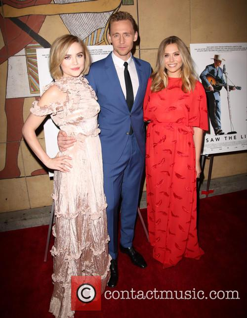 Maddie Hasson, Tom Hiddleston and Elizabeth Olsen