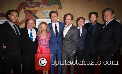 Casey Bond, James Dumont, Denise Gossett, Tom Hiddleston, Marc Abraham, Josh Brady and Tom Bernard 2
