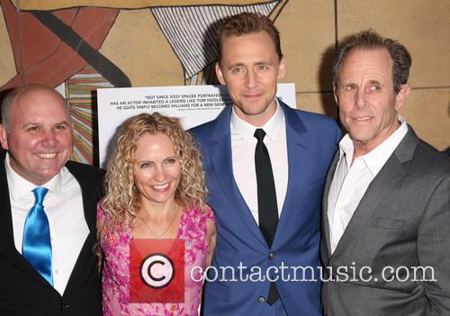 James Dumont, Denise Gossett, Tom Hiddleston and Marc Abraham 6
