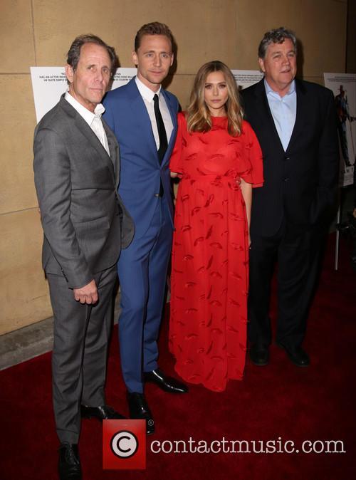 Marc Abraham, Tom Hiddleston, Elizabeth Olsen and Tom Bernard 6