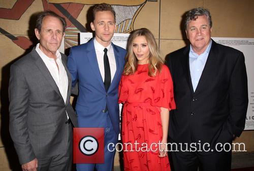 Marc Abraham, Tom Hiddleston, Elizabeth Olsen and Tom Bernard 8