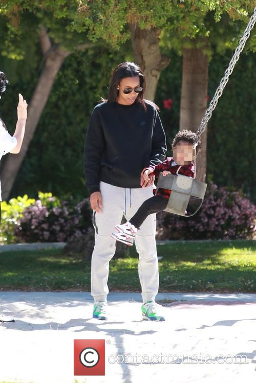 Kelly Rowland and Titan Jewell Witherspoon 11