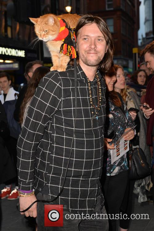 James Bowen and Bob The Cat 1