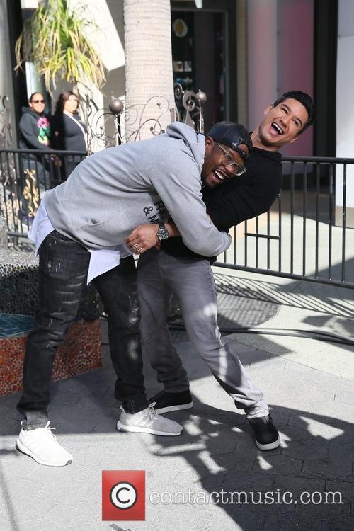 Von Miller and Mario Lopez 3