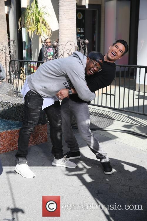 Von Miller and Mario Lopez 4