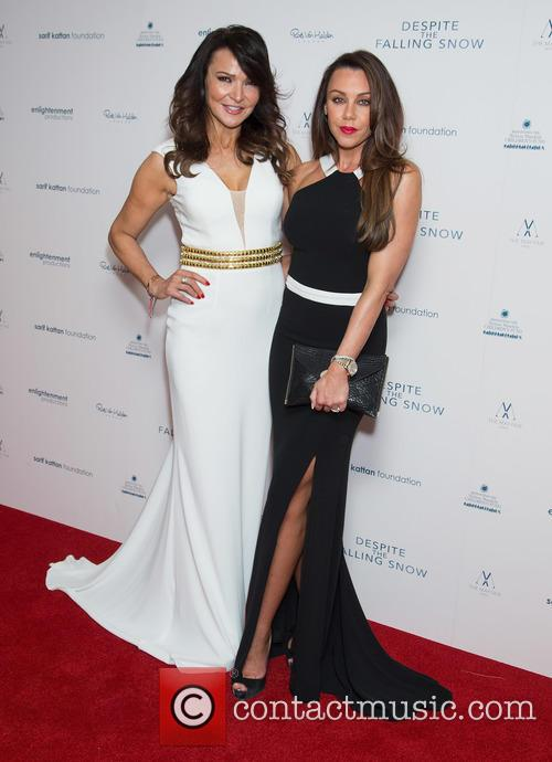 Lizzie Cundy and Michelle Heaton 1