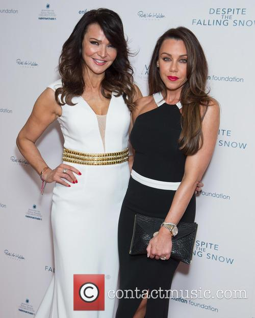 Lizzie Cundy and Michelle Heaton 2