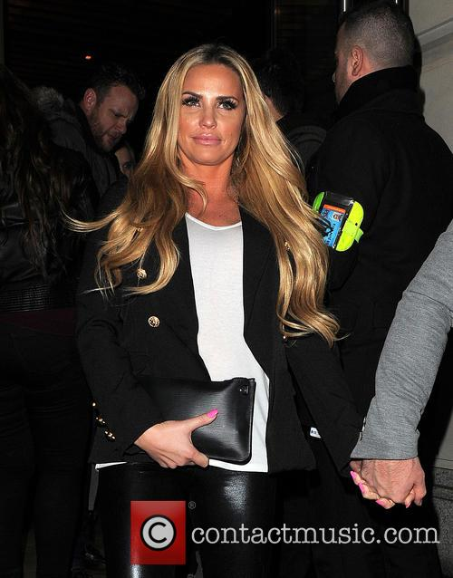 Katie Price and Hayler Seen 2