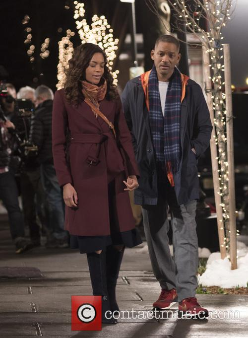 Will Smith and Naomie Harris 11