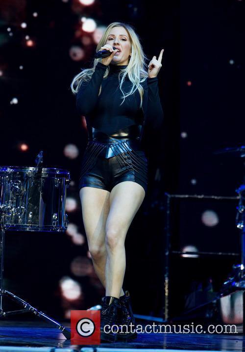 Ellie Goulding performs live in concert