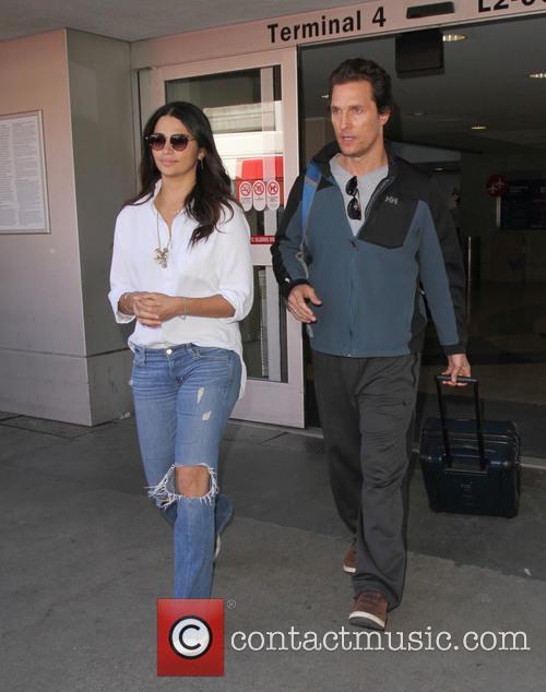 Matthew Mcconaughey and Camila Alves 2