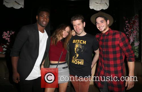 Keo Motsepe, Robin Antin and Perez Hilton 1