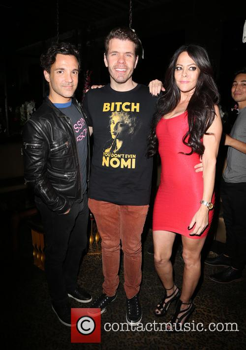 George Kotsiopoulos, Perez Hilton and Allison Melnick 1
