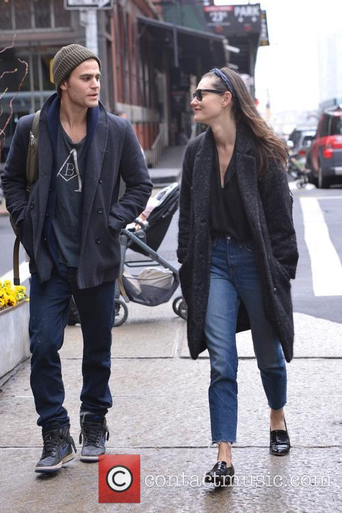 Paul Wesley out and about in New York...