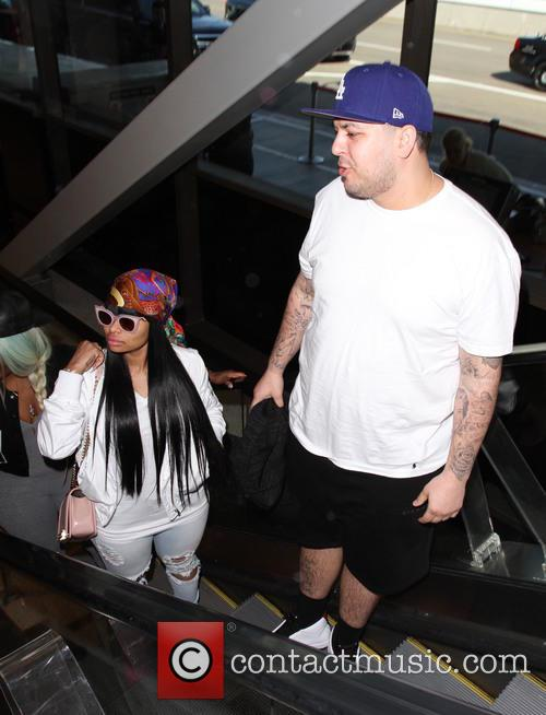 Rob Kardashian and Blac Chyna 7