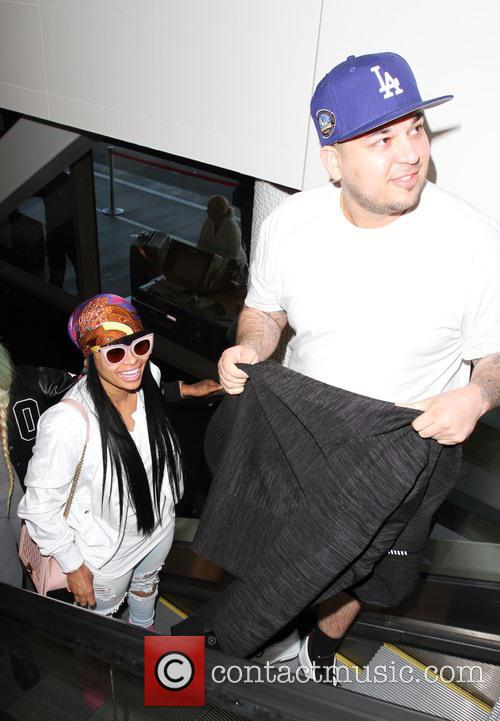 Rob Kardashian and Blac Chyna 8
