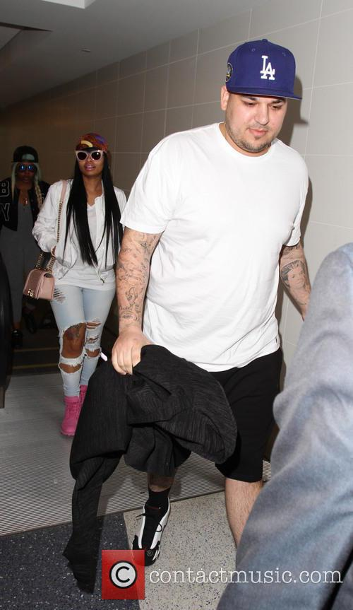 Rob Kardashian and Blac Chyna 9