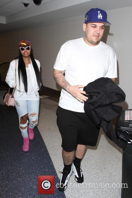 Rob Kardashian and Blac Chyna 10