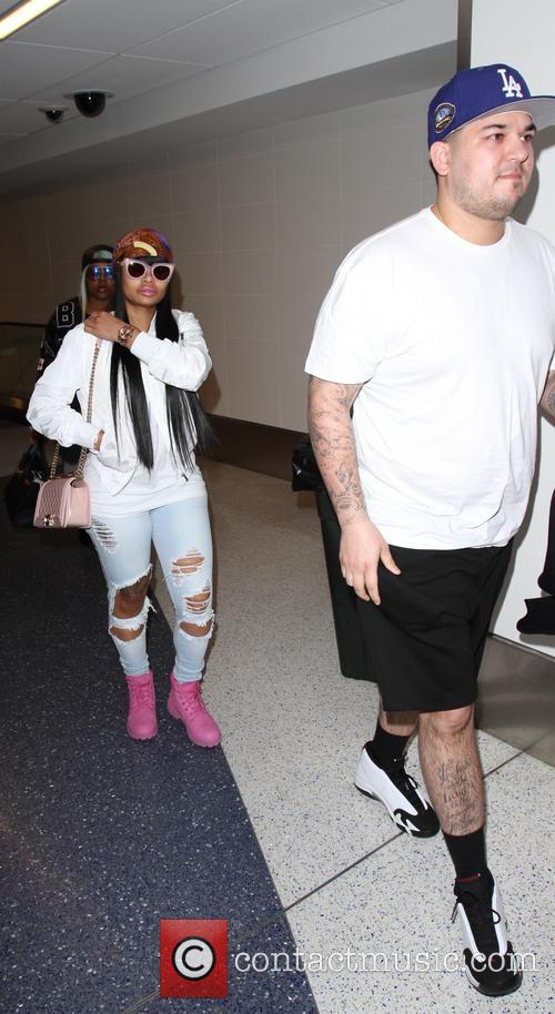 Rob Kardashian and Blac Chyna 11