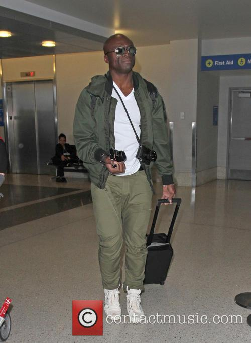 Seal arrives at Los Angeles International Airport (LAX)