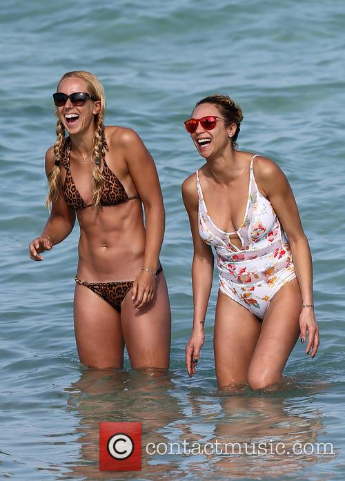 Lilly Becker and Sabine Lisicki 4